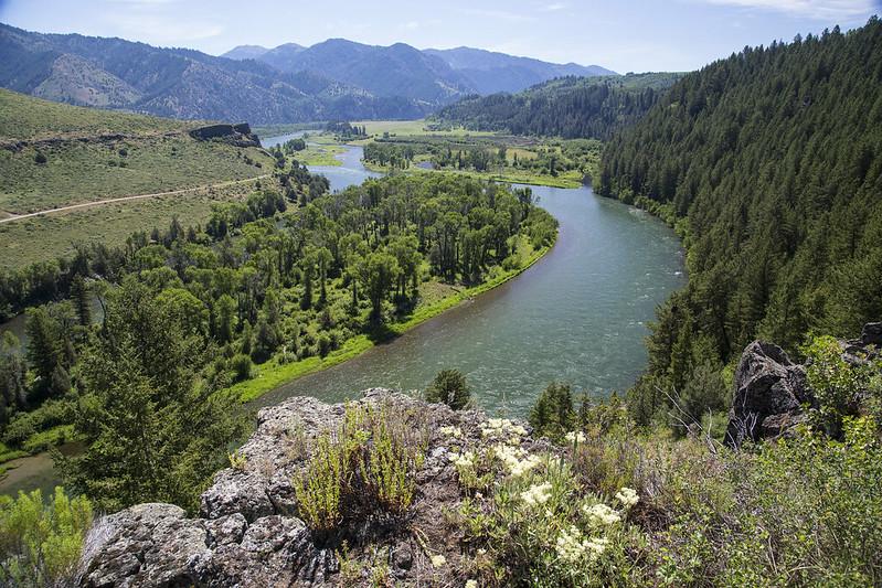 Snake River South Fork. Photo Courtesy of Bureau of Land Management Idaho